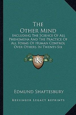 The Other Mind : Edmund Shaftesbury : 9781162936352