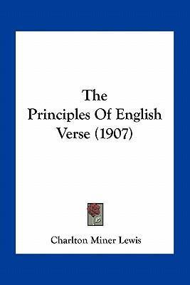 The Principles of English Verse (1907)