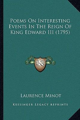 Poems on Interesting Events in the Reign of King Edward III Poems on Interesting Events in the Reign of King Edward III (1795) (1795)