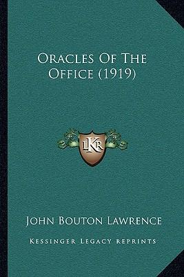 Oracles of the Office (1919)