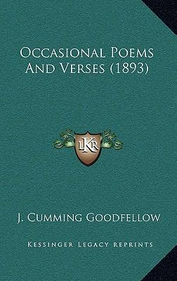 Occasional Poems and Verses (1893)