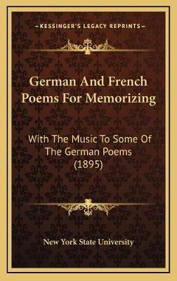 German and French Poems for Memorizing
