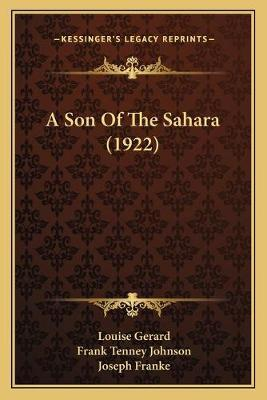 A Son of the Sahara (1922)