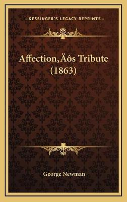 Affection's Tribute (1863)