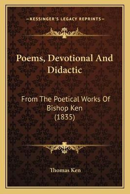 Poems, Devotional And Didactic