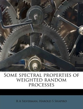 Some Spectral Properties of Weighted Random Processes