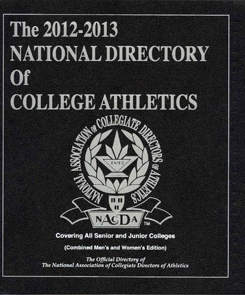 The National Directory of College Athletics 2012-2013