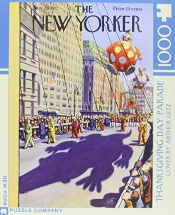 New Yorker Thanksgiving Day Parade Jigsaw Puzzle