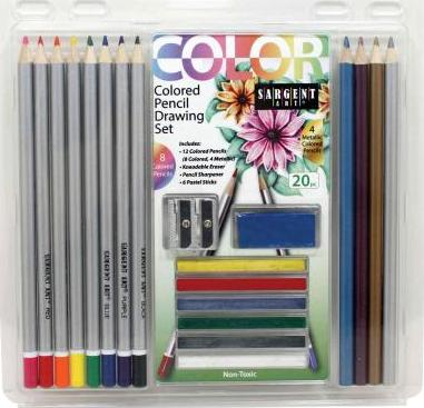 Pencils/20 PC. Colored Drawing Set