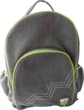 Onyx & Green Backpack Jute Cotton Blend Gray
