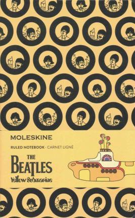 Moleskine the Beatles Limited Edition Notebook Large Ruled Yellow