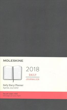 Moleskine 12 Month Daily Planner, Large, Black