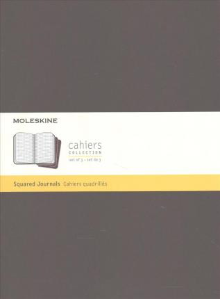 Moleskine Cahier Journal, Extra Large, Square, Coffee Brown