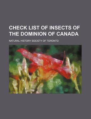 Check List of Insects of the Dominion of Canada