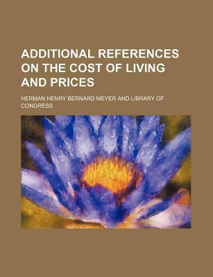 Additional References on the Cost of Living and Prices