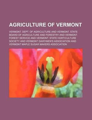 Agriculture of Vermont