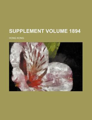 Supplement Volume 1894