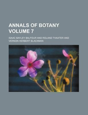 Annals of Botany Volume 7
