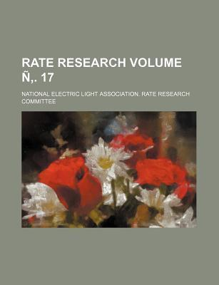 Rate Research Volume N . 17