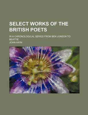 Select Works of the British Poets; In a Chronological Series from Ben Jonson to Beattie