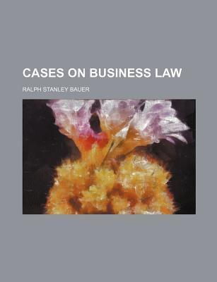 Cases on Business Law