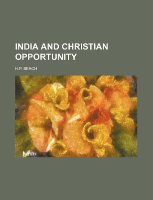 India and Christian Opportunity