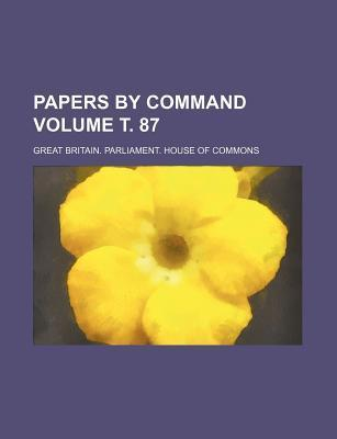 Papers by Command Volume . 87