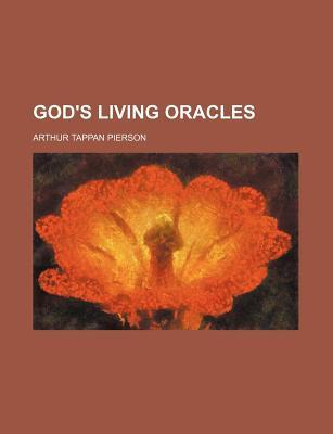 God's Living Oracles
