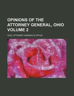 Opinions of the Attorney General, Ohio Volume 2