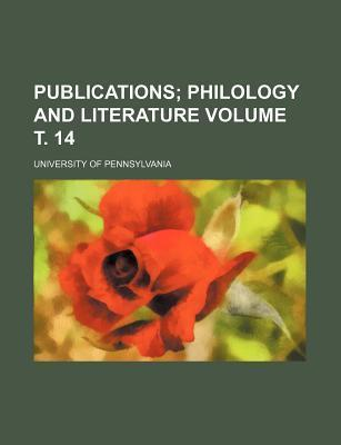 Publications; Philology and Literature Volume . 14