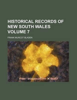 Historical Records of New South Wales Volume 7