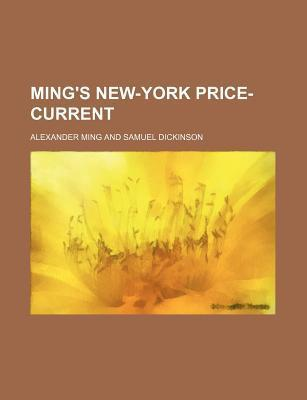Ming's New-York Price-Current