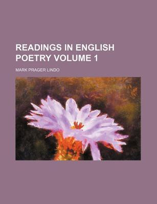 Readings in English Poetry Volume 1