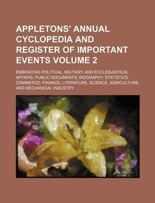 Appletons' Annual Cyclopedia and Register of Important Events; Embracing Political, Military, and Ecclesiastical Affairs Public Documents Biography, S