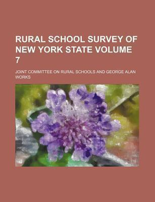 Rural School Survey of New York State Volume 7