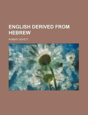 English Derived from Hebrew