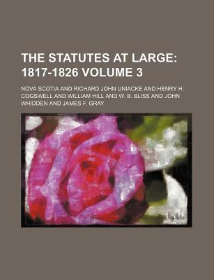 The Statutes at Large; 1817-1826 Volume 3