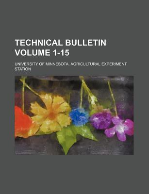 Technical Bulletin Volume 1-15
