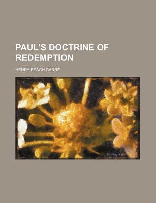 Paul's Doctrine of Redemption