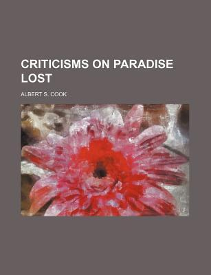 Criticisms on Paradise Lost