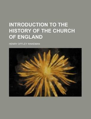 Introduction to the History of the Church of England