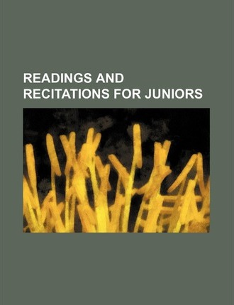 Readings and Recitations for Juniors