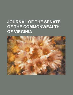Journal of the Senate of the Commonwealth of Virginia