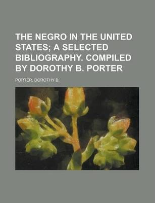 The Negro in the United States