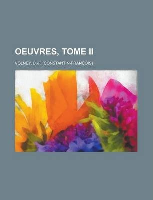 Oeuvres, Tome II