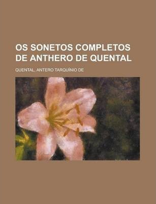 OS Sonetos Completos de Anthero de Quental