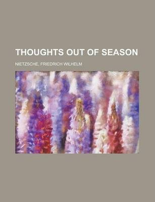 Thoughts Out of Season Volume II