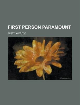 First Person Paramount