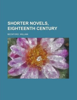 Shorter Novels, Eighteenth Century