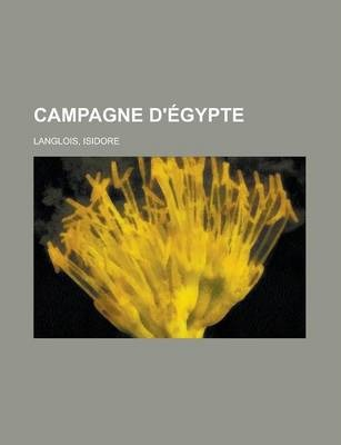 Campagne D'Egypte (2)